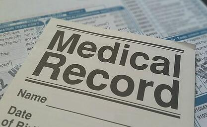 divorce and medical records