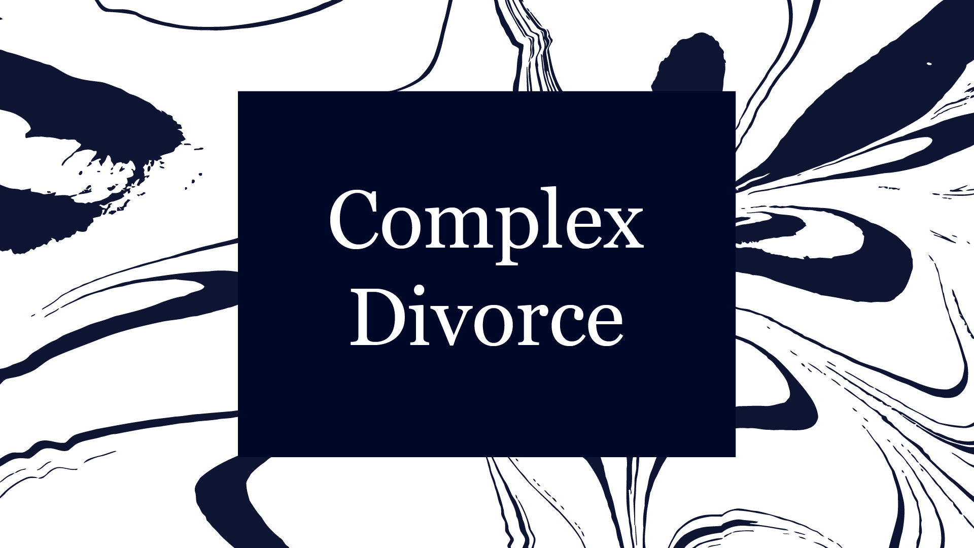 Complex Divorce Tile
