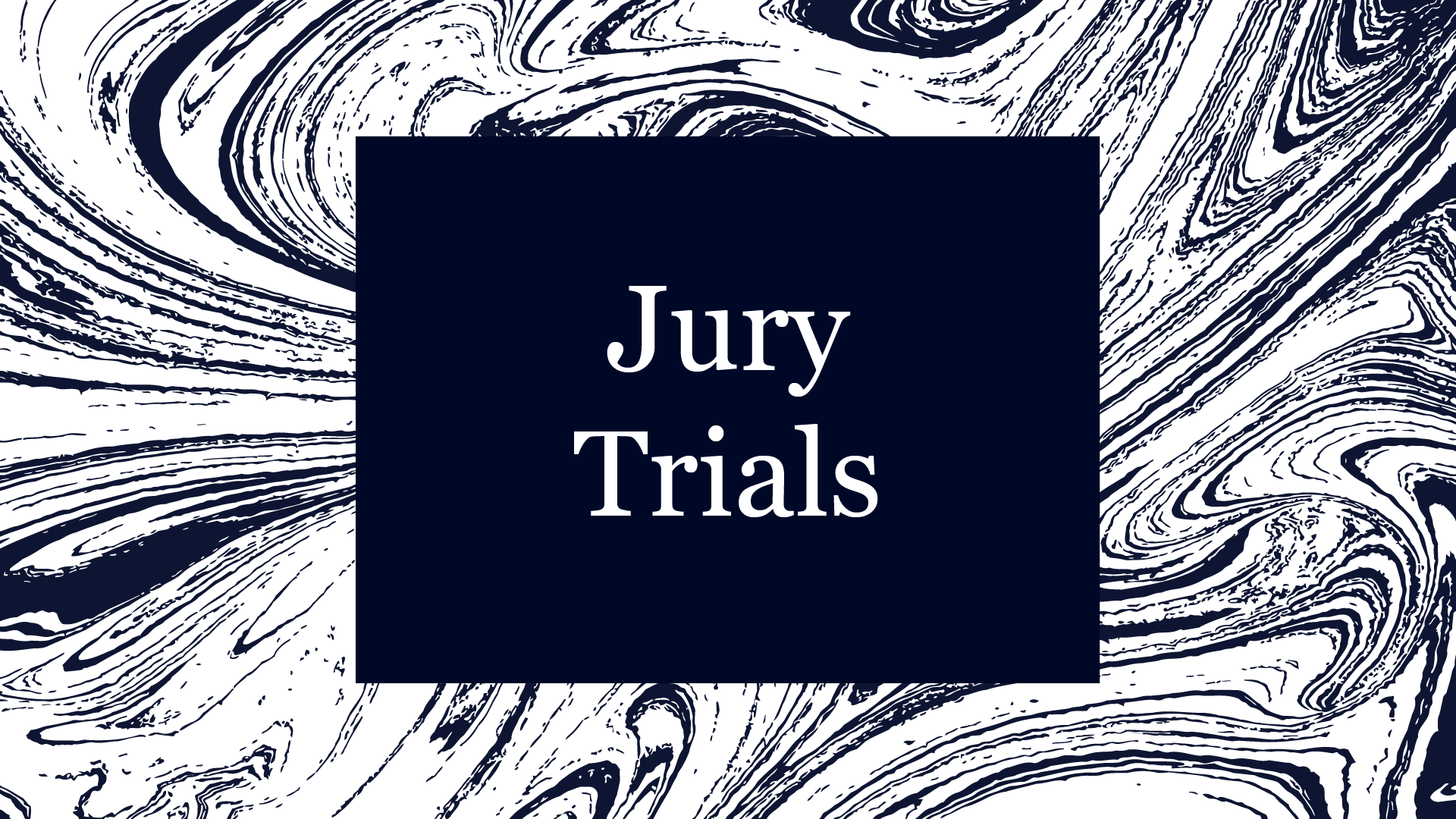 Jury Trials Tile