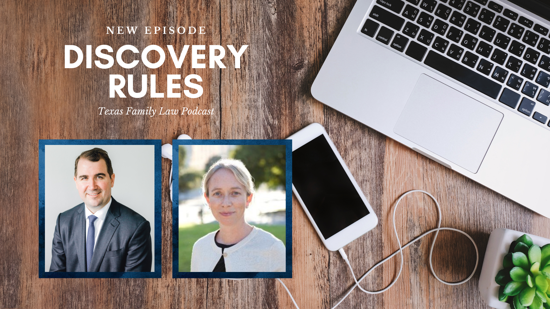 Texas Family Law Podcast: New Discovery Rules (feat. Audrey Blair)